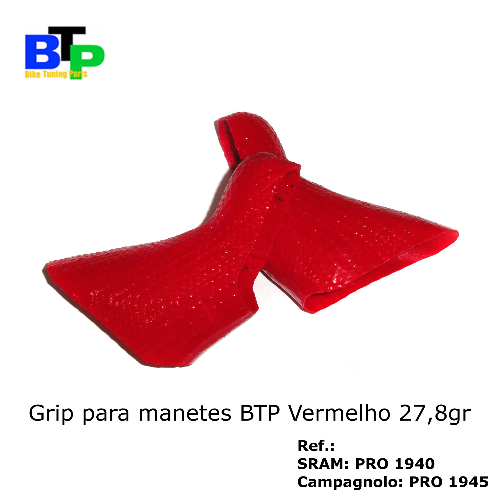 Borracha Manete Carbono BTP SRAM Red (par) 27.8gr