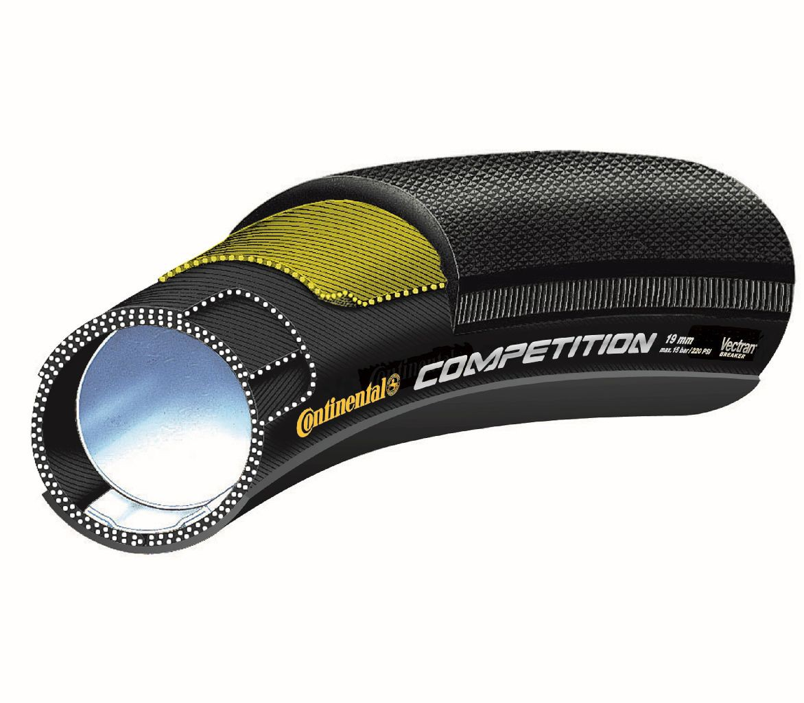 Pneu Tubular CONTINENTAL Competition 28 700x25