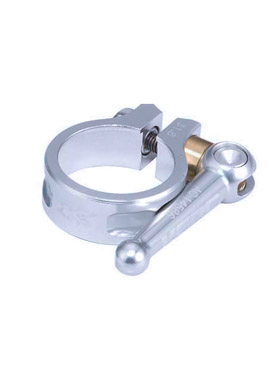 Seat Clamp Saddle KCNC SC 10 QR 349 Silver