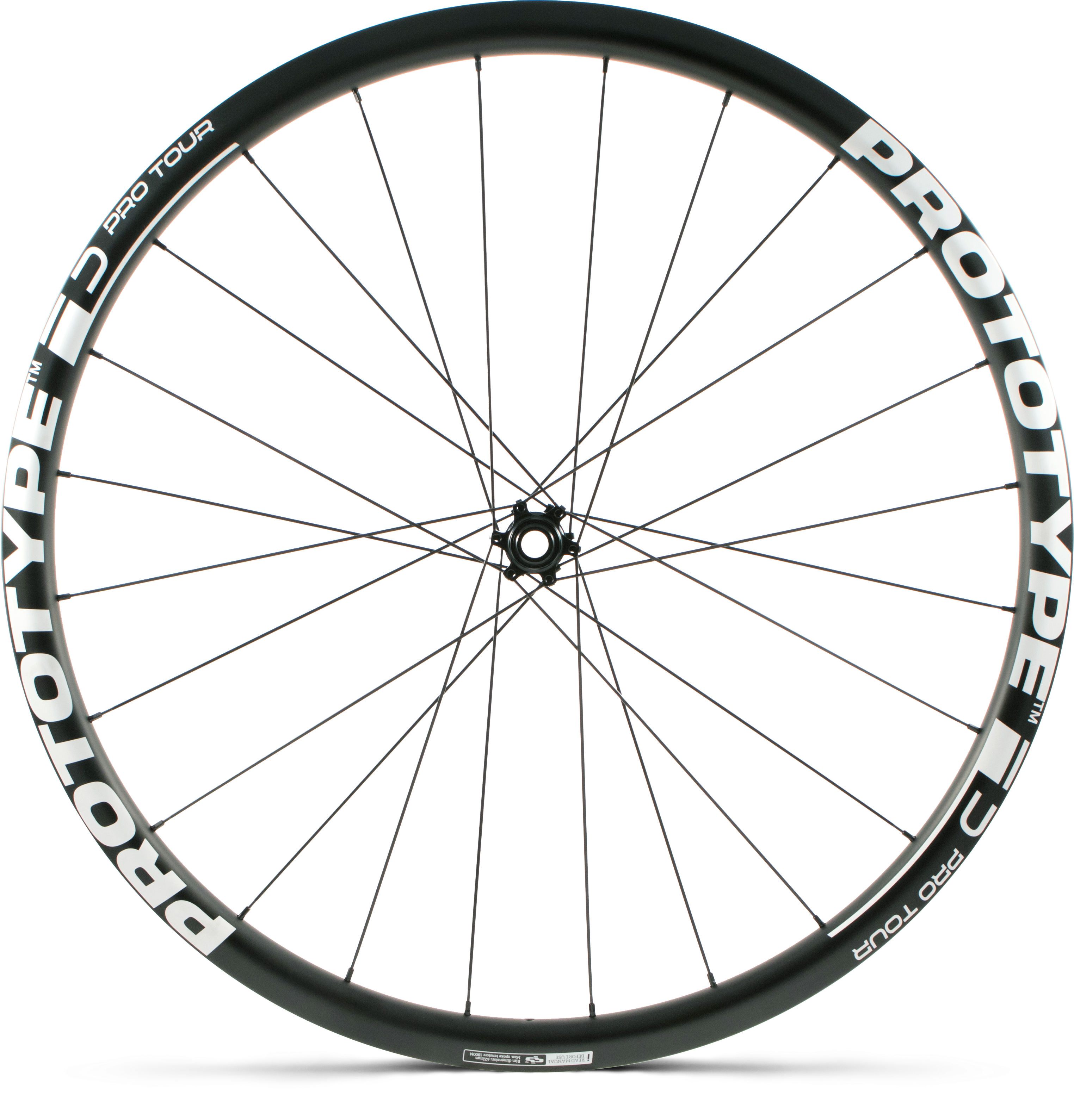 Roda PROTOTYPE Pro Tour Disc Pneu - IS - (F)