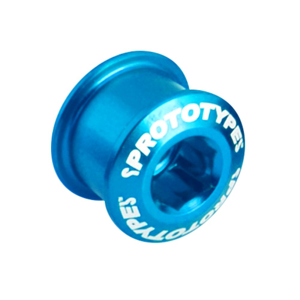 Chainring Bolt Short 65 (x4) Blue