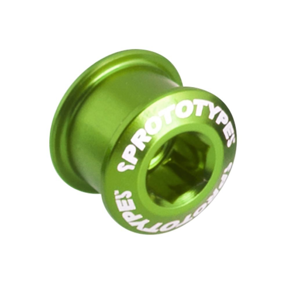 Chainring Bolt Short 65 (x4) Green