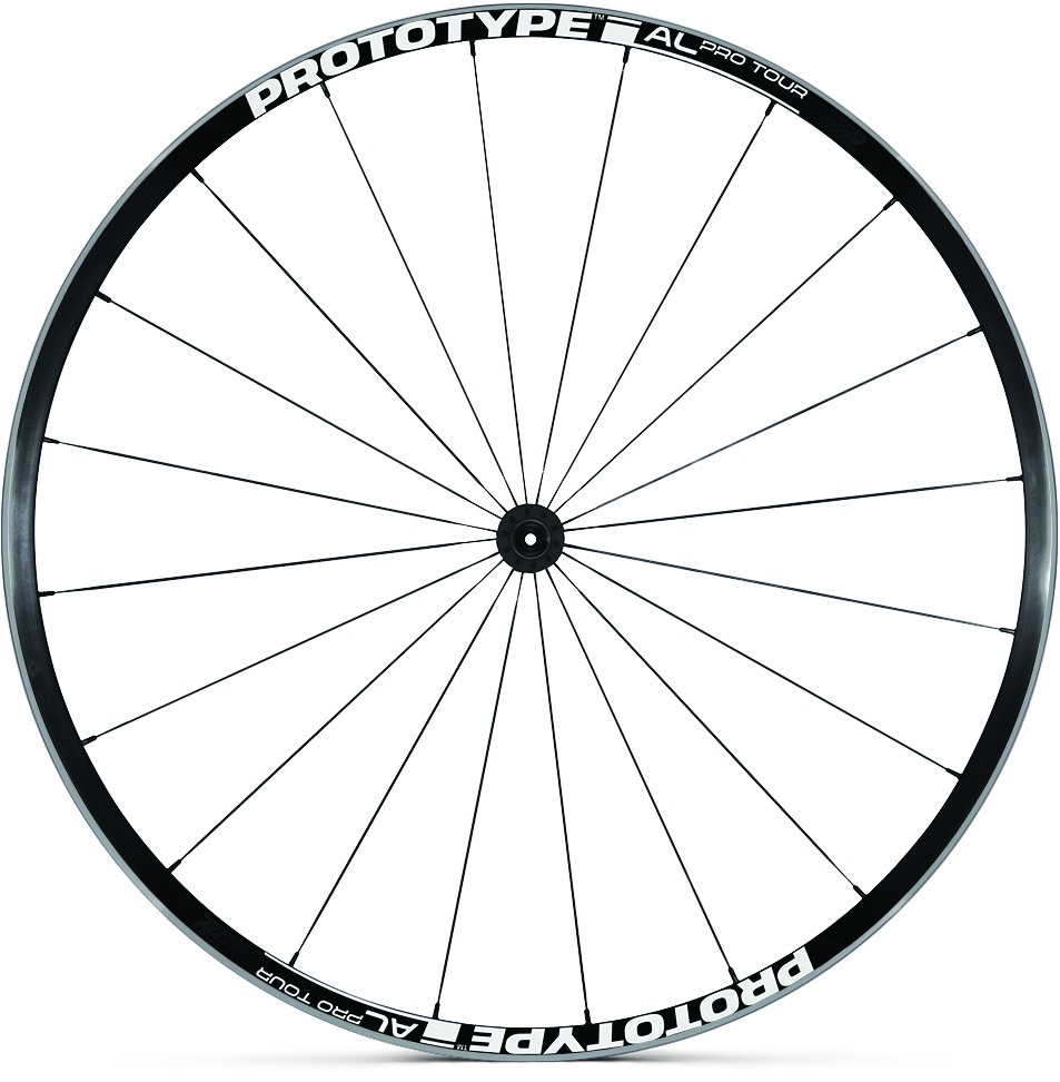 Wheel Pro Tour AL Clincher Black (R)