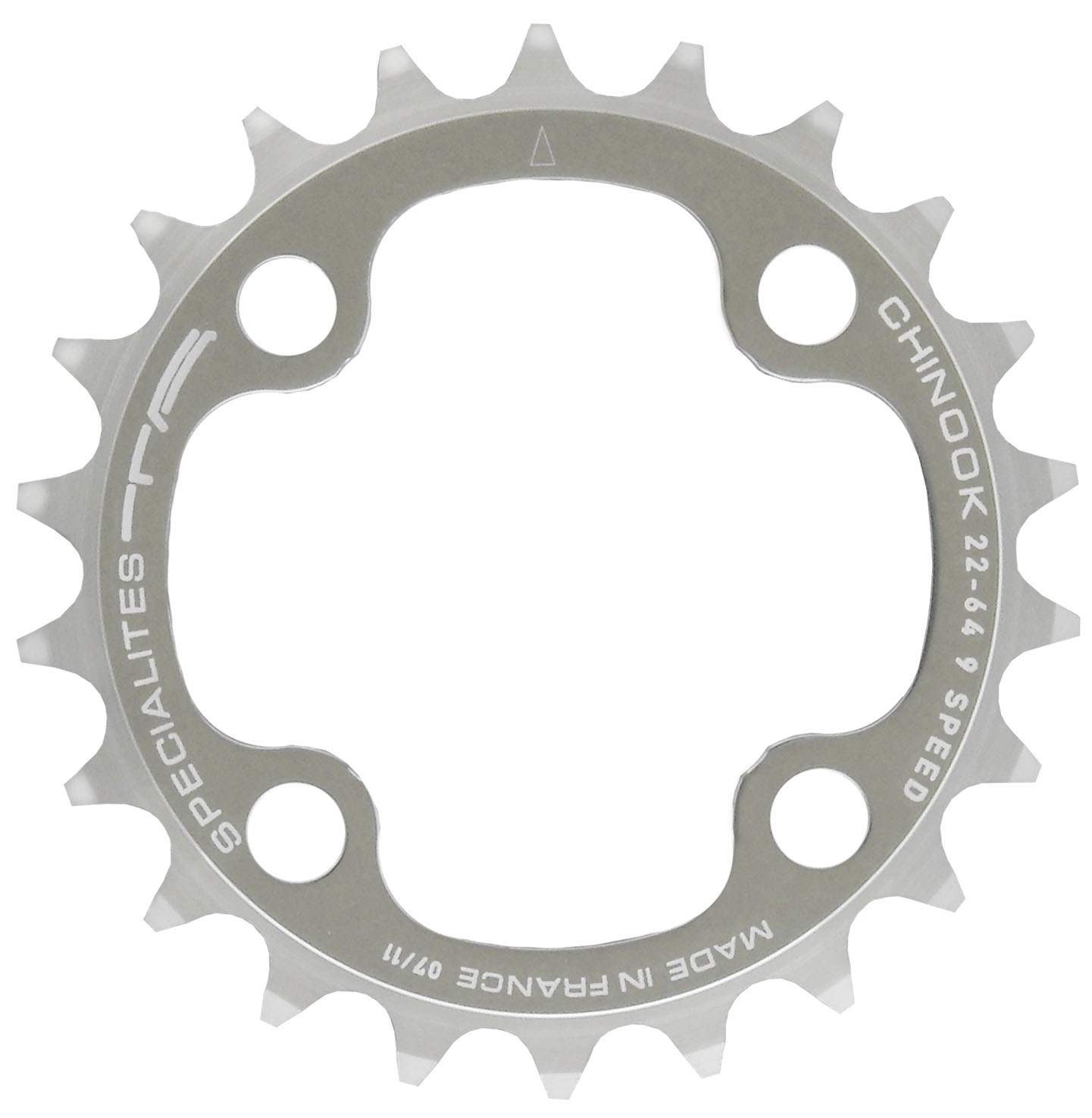 Chainring TA CHINOOK 1-64 22T