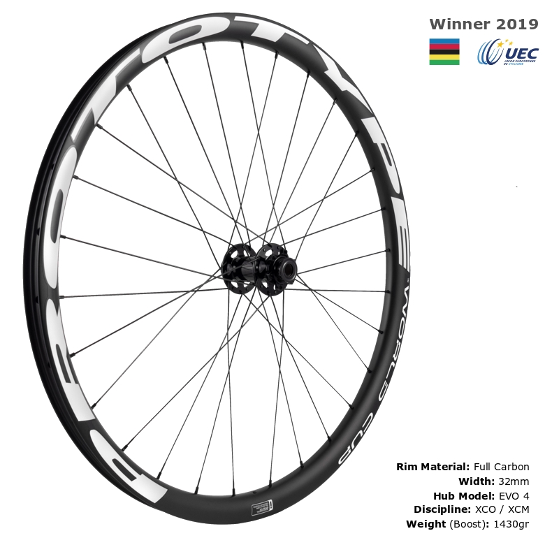 Roda PROTOTYPE MTB World Cup 29r  (Set EVO 4) WH