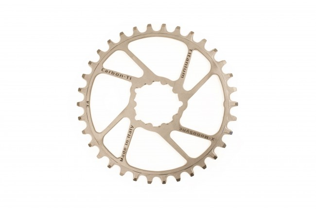 Chainring CARBON TI X-Ring Al/Ca EVO 50 X 110